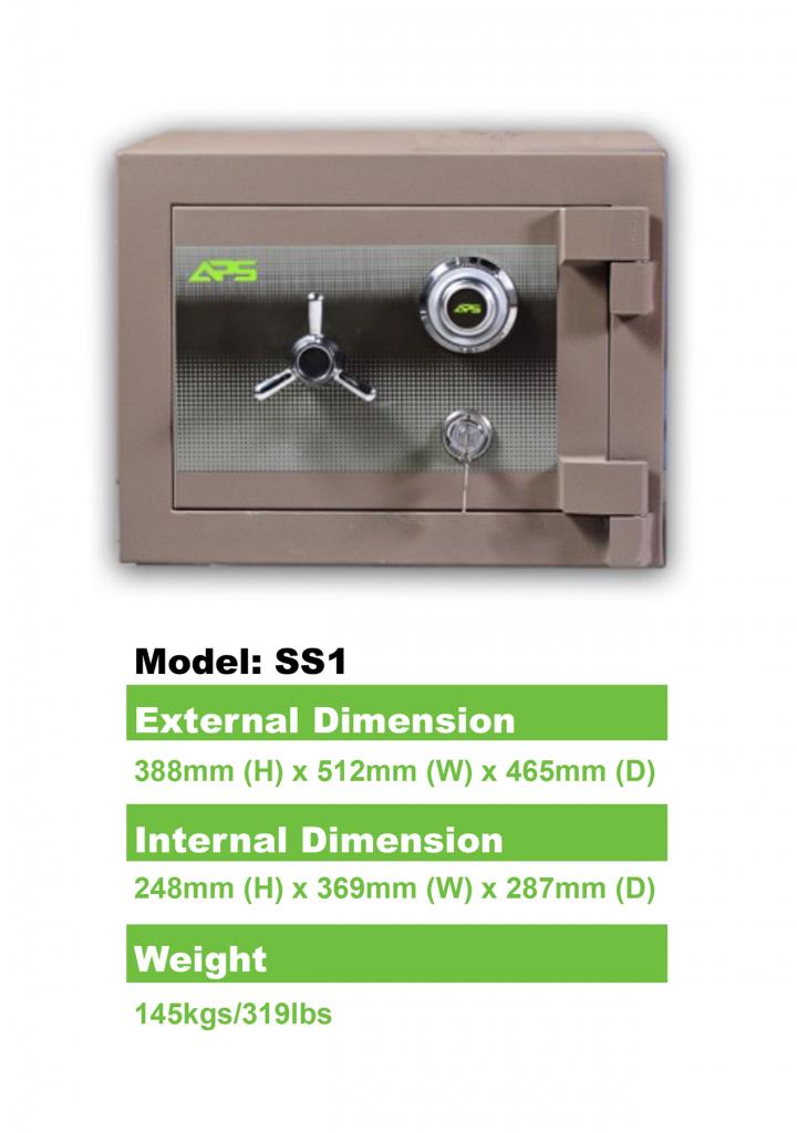 APS-Home-Safe-Model-SS1-Details