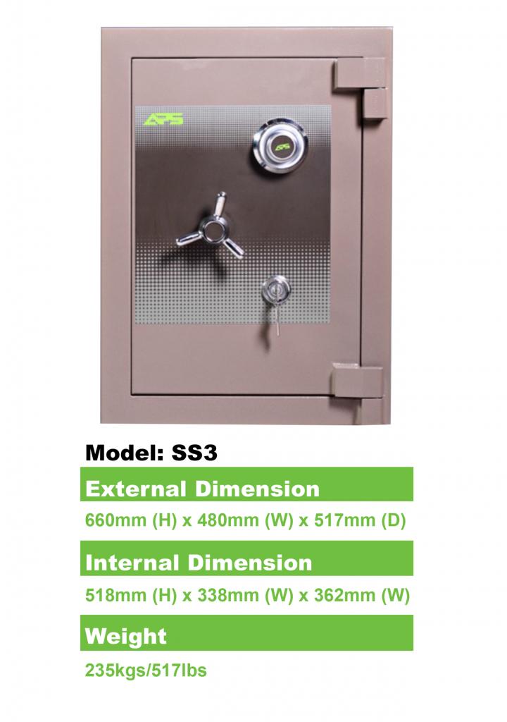 APS-Home-Safe-Model-SS3-Details